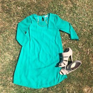 GB green dress